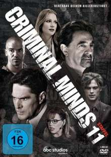 Criminal Minds Season 11, 6 DVDs