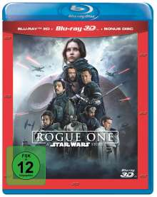 Rogue One: A Star Wars Story (3D & 2D Blu-ray), 3 Blu-ray Discs