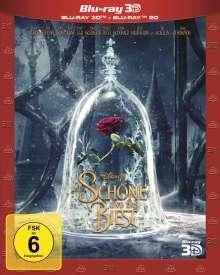 Die Schöne und das Biest (2017) (3D & 2D Blu-ray), 2 Blu-ray Discs