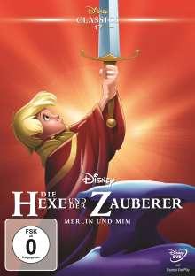 Die Hexe und der Zauberer, DVD