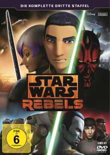 Star Wars Rebels Staffel 3, 4 DVDs