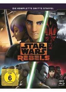 Star Wars Rebels Staffel 3 (Blu-ray), 3 Blu-ray Discs