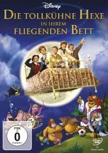Die tollkühne Hexe in ihrem fliegenden Bett, DVD