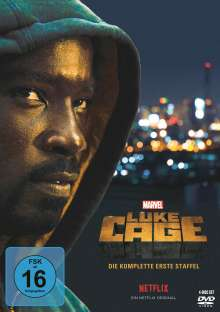 Luke Cage Staffel 1, 4 DVDs