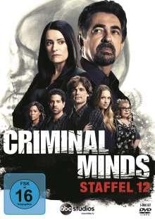 Criminal Minds Season 12, 5 DVDs