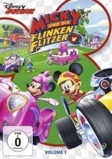 Micky und die flinken Flitzer Vol. 1, DVD