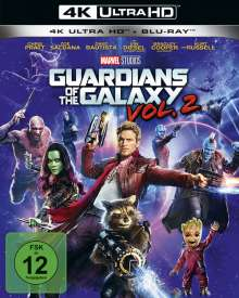 Guardians of the Galaxy Vol. 2 (Ultra HD Blu-ray & Blu-ray), 2 Ultra HD Blu-rays