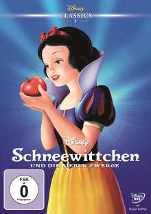 Schneewittchen und die sieben Zwerge (1937), DVD