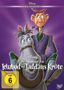 Die Abenteuer von Ichabod und Taddäus Kröte, DVD