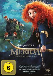 Merida - Legende der Highlands, DVD