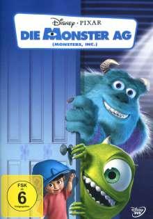 Die Monster AG, DVD