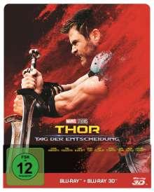 Thor: Tag der Entscheidung (3D & 2D Blu-ray im Steelbook), 2 Blu-ray Discs
