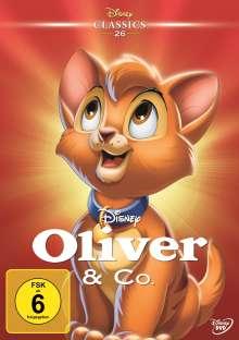 Oliver & Co., DVD