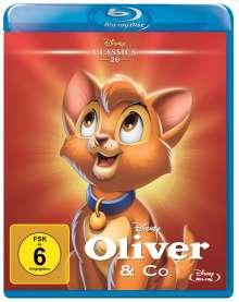 Oliver & Co. (Blu-ray), Blu-ray Disc