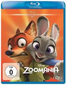 Zoomania (Blu-ray), Blu-ray Disc
