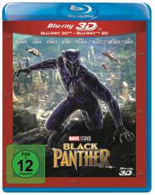 Black Panther (3D & 2D Blu-ray), 2 Blu-ray Discs