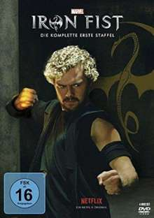 Iron Fist Staffel 1, 4 DVDs