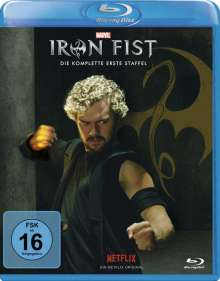 Iron Fist Staffel 1 (Blu-ray), 4 Blu-ray Discs