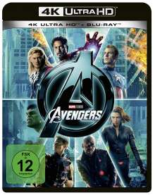 The Avengers (2011) (Ultra HD Blu-ray & Blu-ray), Ultra HD Blu-ray