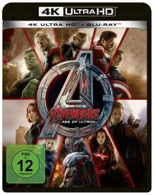 Avengers: Age of Ultron (Ultra HD Blu-ray & Blu-ray), Ultra HD Blu-ray