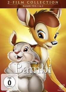 Bambi 1 & 2, 2 DVDs