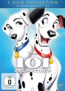 101 Dalmatiner 1 & 2, 2 DVDs