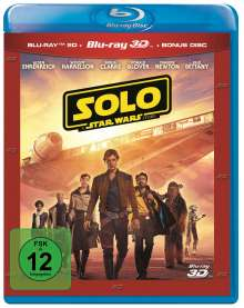 Solo: A Star Wars Story (3D & 2D Blu-ray), 3 Blu-ray Discs