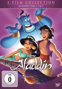 Aladdin Teil 1-3, 3 DVDs