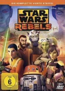 Star Wars Rebels Staffel 4 (finale Staffel), 3 DVDs