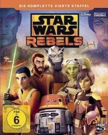 Star Wars Rebels Staffel 4 (finale Staffel) (Blu-ray), 2 Blu-ray Discs