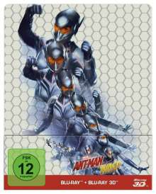 Ant-Man and the Wasp (3D & 2D Blu-ray im Steelbook), 2 Blu-ray Discs