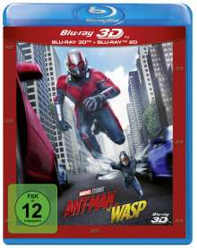 Ant-Man and the Wasp (3D & 2D Blu-ray), 2 Blu-ray Discs