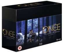 Once Upon a Time Season 1-7 (Complete Series) (Blu-ray) (UK Import), 35 Blu-ray Discs