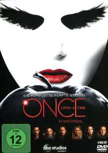 Once Upon a Time Season 5, 6 DVDs