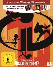 Die Unglaublichen 2 (Special Edition) (3D & 2D Blu-ray), 3 Blu-ray Discs