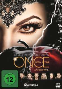 Once Upon a Time Season 6, 6 DVDs