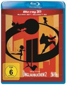 Die Unglaublichen 2 (3D & 2D Blu-ray), 2 Blu-ray Discs