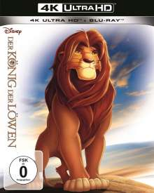 Der König der Löwen (1994) (Ultra HD Blu-ray & Blu-ray), 1 Ultra HD Blu-ray und 1 Blu-ray Disc