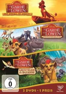 Die Garde der Löwen (Dreierpack), 3 DVDs