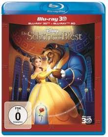 Die Schöne und das Biest (1991) (3D & 2D Blu-ray), 2 Blu-ray Discs