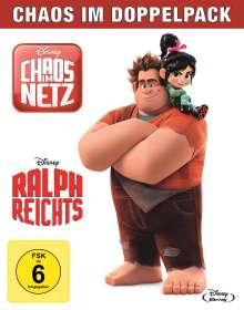 Ralph reicht's / Chaos im Netz (Blu-ray), 2 Blu-ray Discs