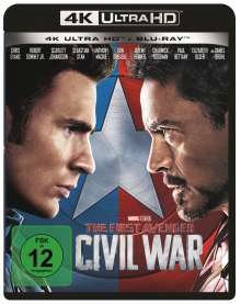 The First Avenger: Civil War (Ultra HD Blu-ray & Blu-ray), 1 Ultra HD Blu-ray und 1 Blu-ray Disc