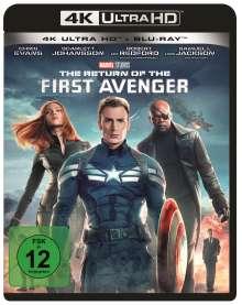 The Return of the First Avenger (Ultra HD Blu-ray & Blu-ray), 1 Ultra HD Blu-ray und 1 Blu-ray Disc