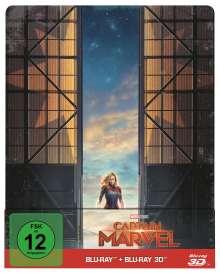 Captain Marvel (3D & 2D Blu-ray im Steelbook), 2 Blu-ray Discs