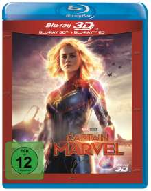 Captain Marvel (3D & 2D Blu-ray), 2 Blu-ray Discs