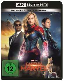 Captain Marvel (Ultra HD Blu-ray & Blu-ray), 2 Ultra HD Blu-rays