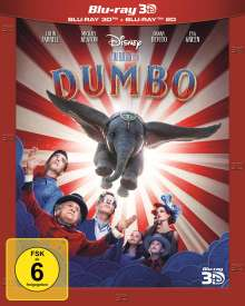 Dumbo (2019) (3D & 2D Blu-ray), 2 Blu-ray Discs