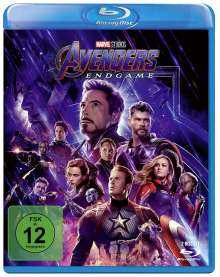 Avengers: Endgame (Blu-ray), 2 Blu-ray Discs