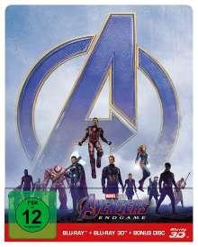 Avengers: Endgame (3D & 2D Blu-ray im Steelbook), 3 Blu-ray Discs