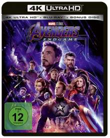 Avengers: Endgame (Ultra HD Blu-ray & Blu-ray), 3 Ultra HD Blu-rays